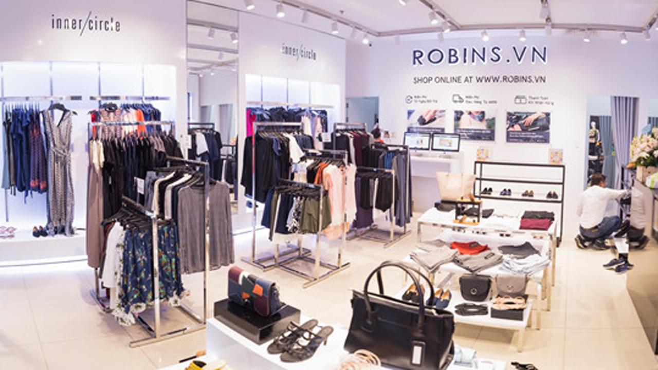 Image result for thương hiệu Robins.vn
