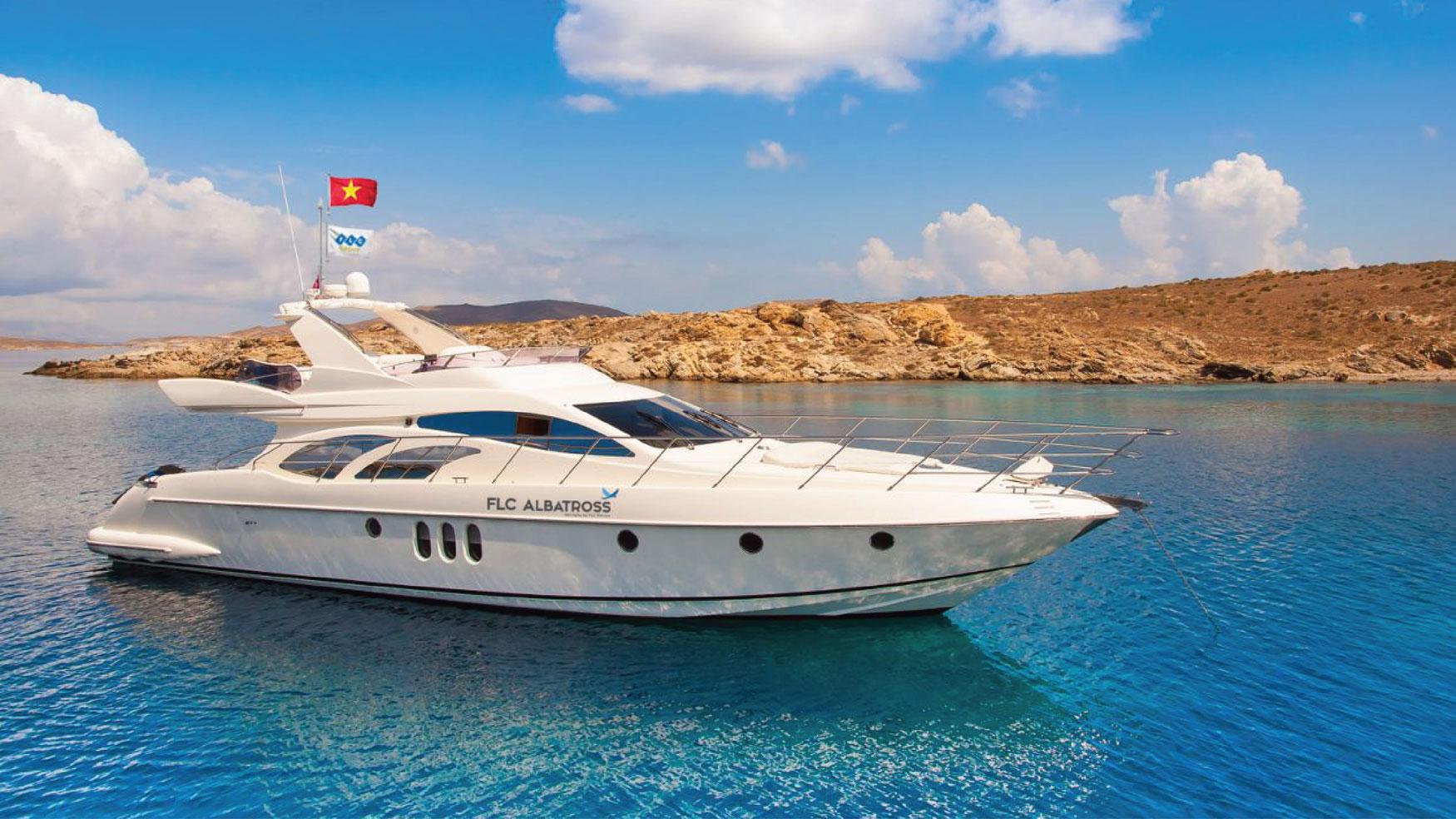 Du ngoạn Hạ Long bằng du thuyền triệu đô FLC Albatross 1