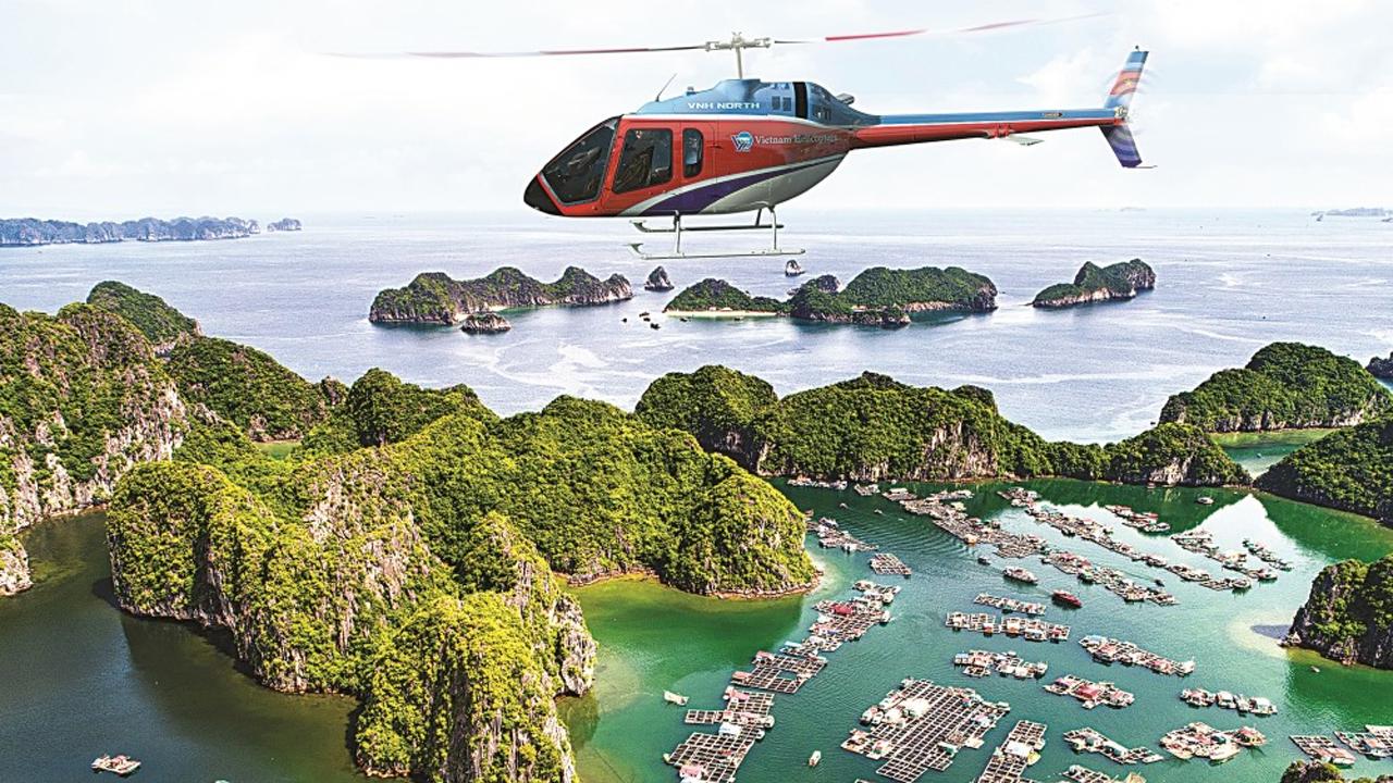 HaLong Heli Tours, dịch vụ ngắm Hạ Long bằng trực thăng mất bao nhiêu tiền? 2