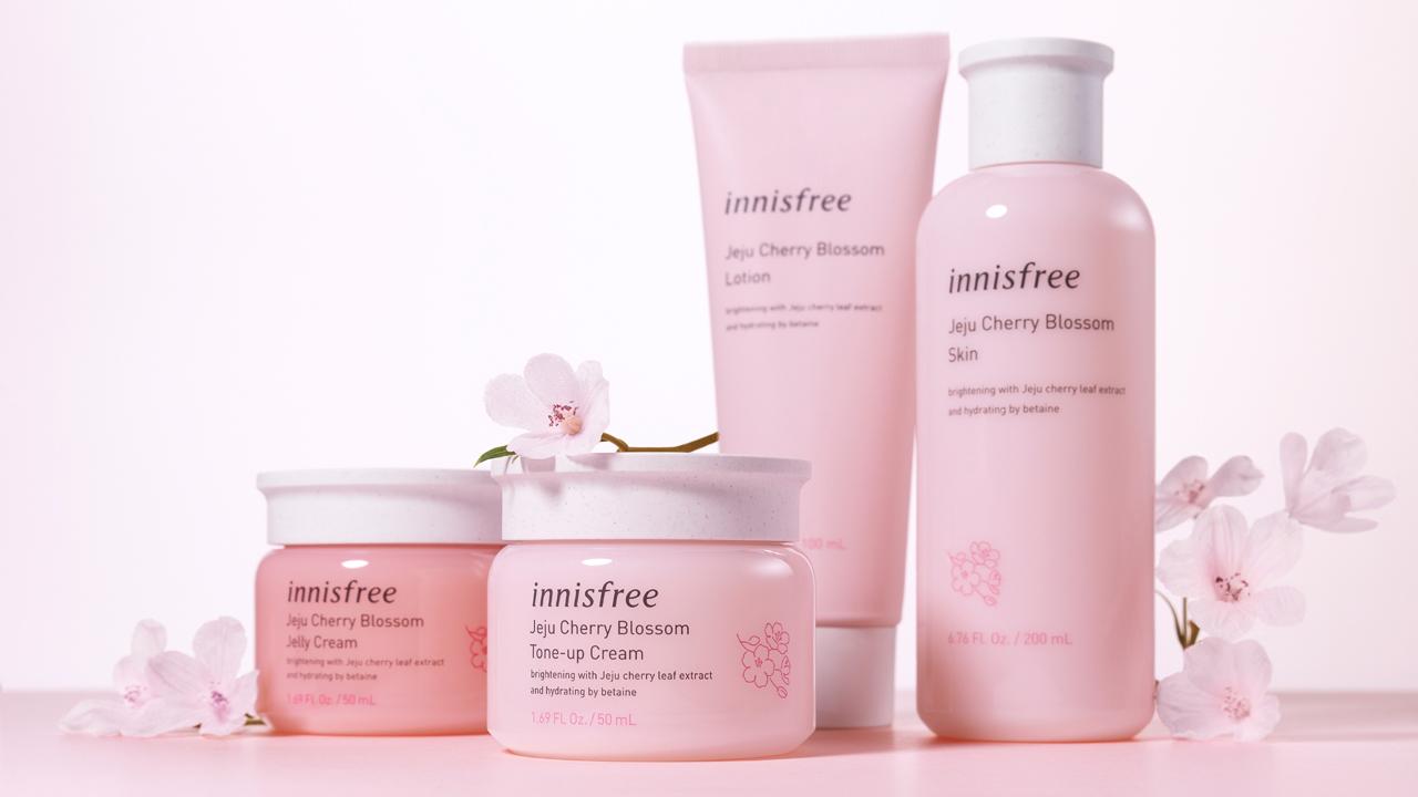 Innisfree ra mắt dòng sản phẩm Jeju Cherry Blossom 2