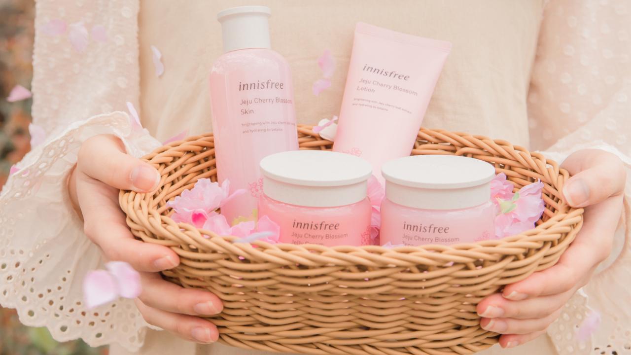 Innisfree ra mắt dòng sản phẩm Jeju Cherry Blossom 3