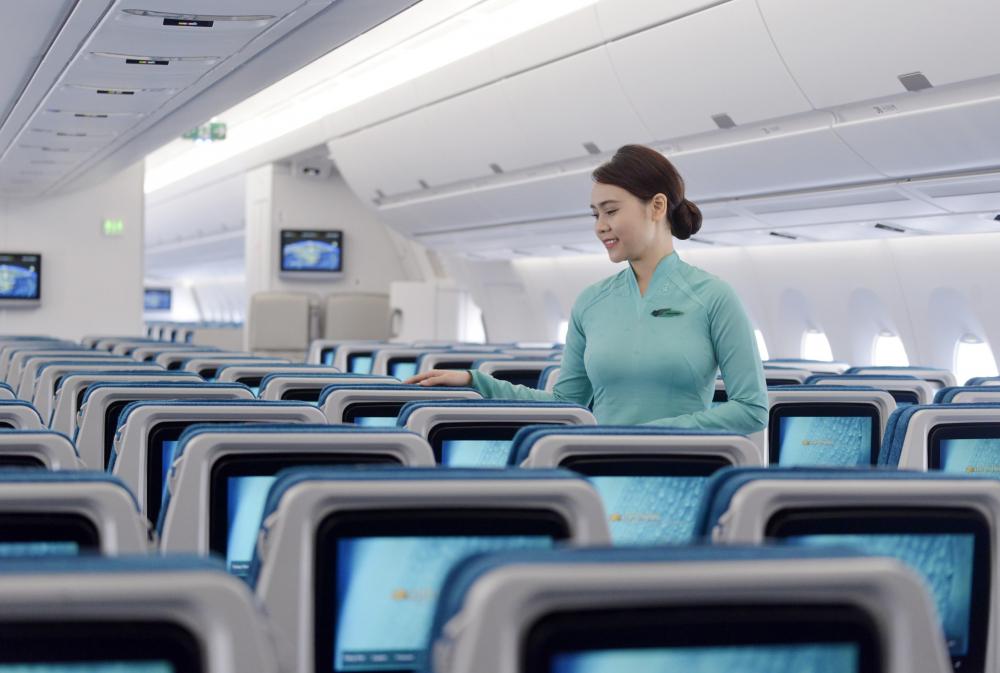 Vietnam Airlines ra mắt dịch vụ WiFi trên chuyến bay 1