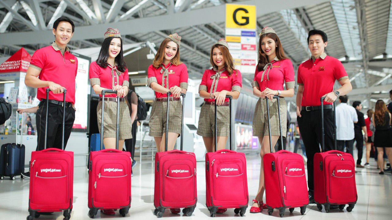 VietJet khuyến mại các đường bay tại Thái Lan giá từ 9 BAHT 1