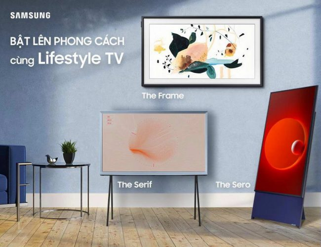 """Chương trình khuyến mại """"Bật lên phong cách cùng Samsung Lifestyle TV"""" có gì hay? 1"""
