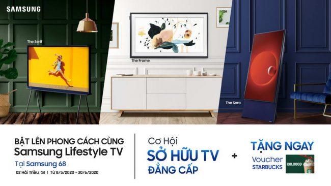 """Chương trình khuyến mại """"Bật lên phong cách cùng Samsung Lifestyle TV"""" có gì hay? 2"""