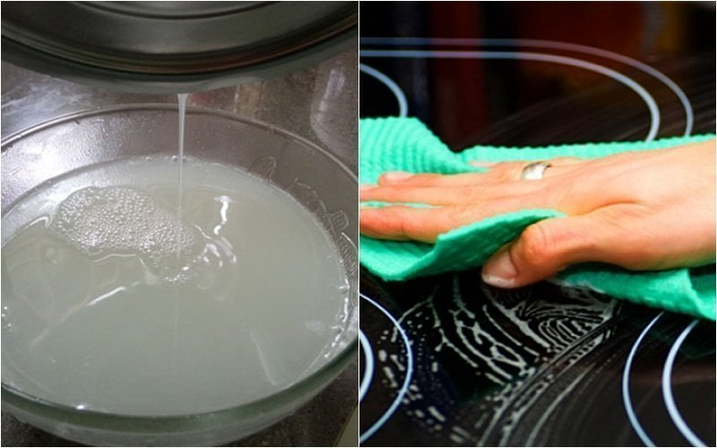 Cách vệ sinh bếp hồng ngoại sạch bong như mới 2