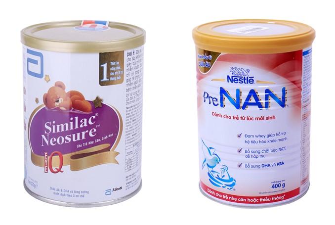Sữa công thức cho trẻ sơ sinh có những loại nào? 5