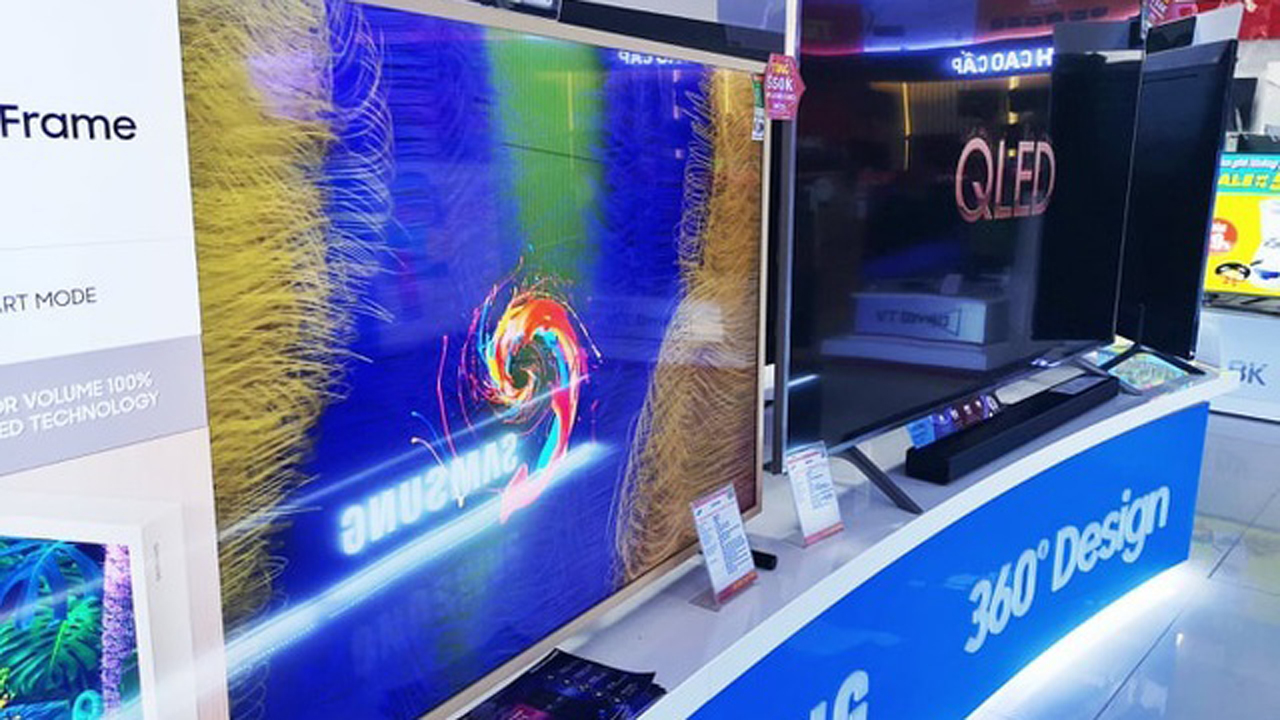 Tivi màn hình lớn đại hạ giá 1