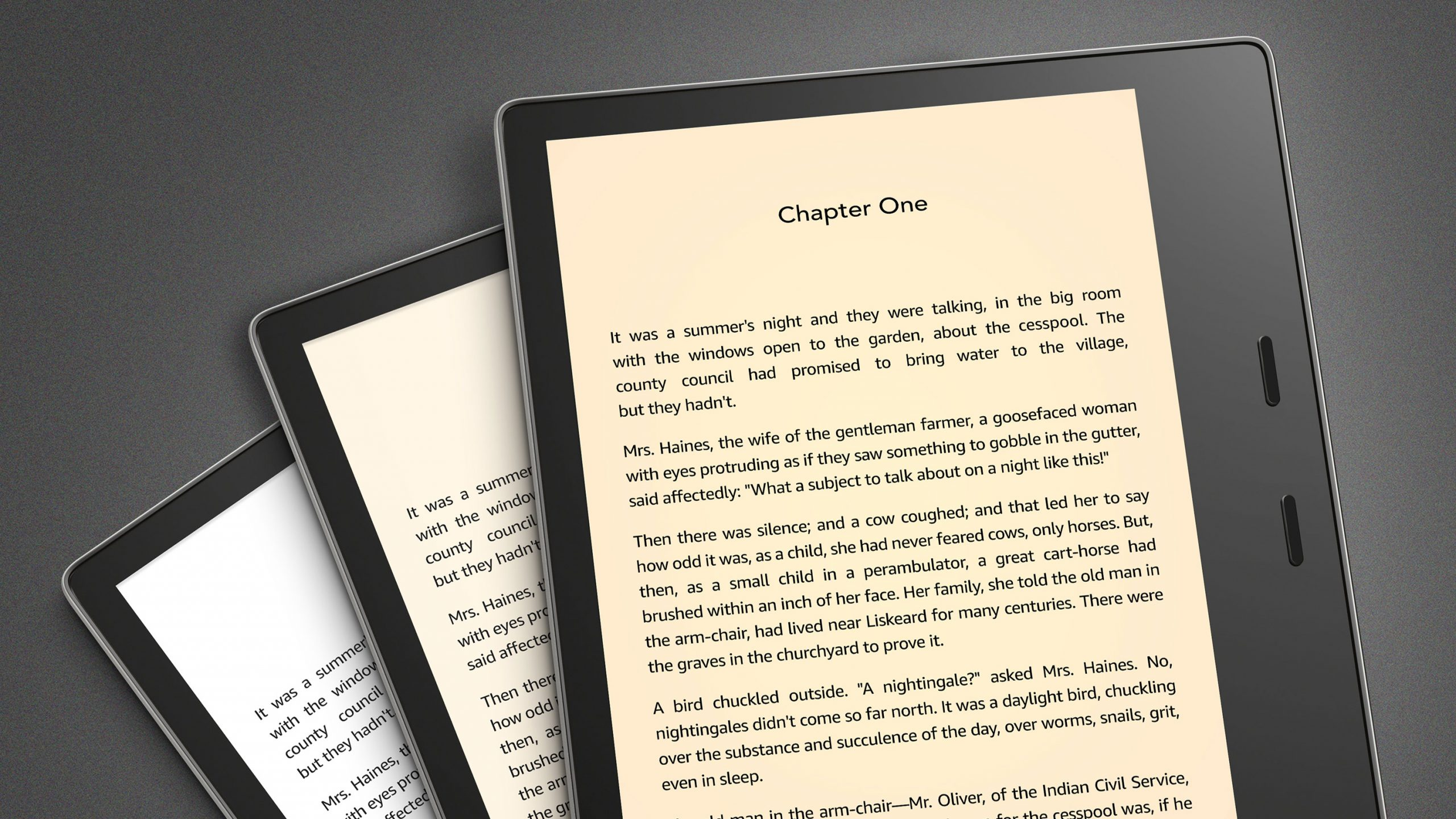 Có nên mua máy đọc sách Kindle Oasis Warm Light? 3