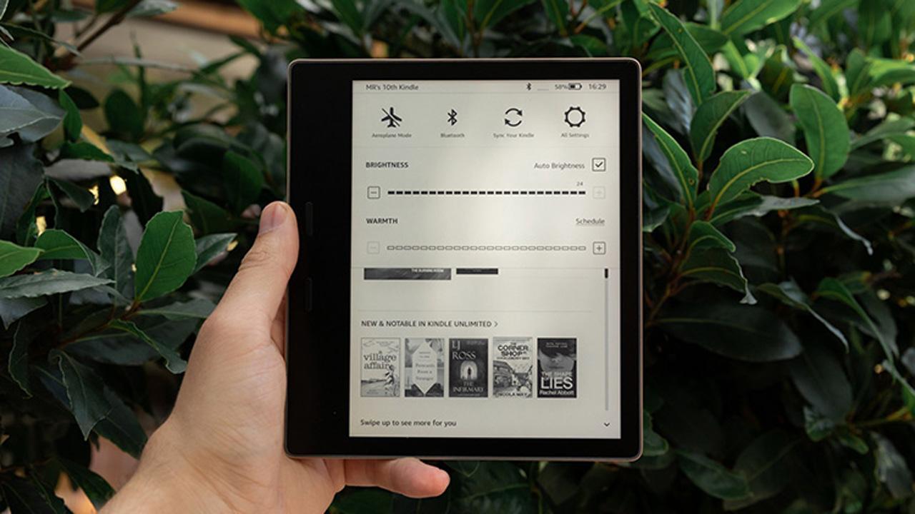 Có nên mua máy đọc sách Kindle Oasis Warm Light? 1