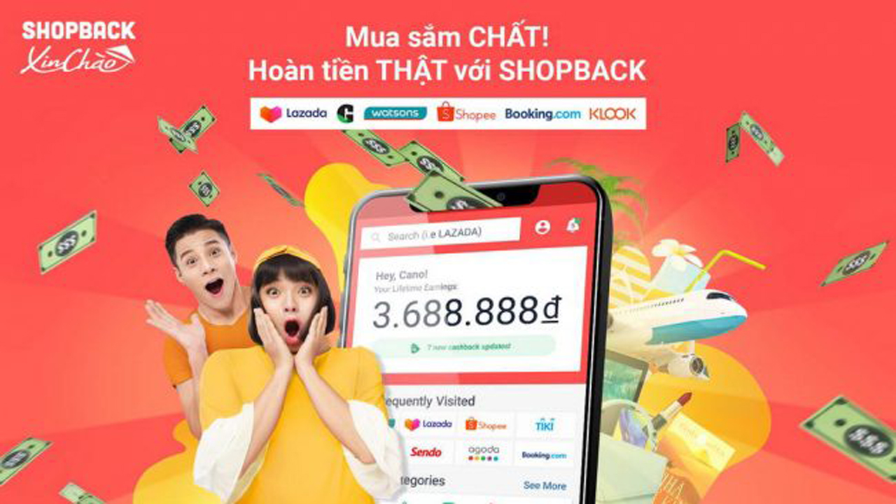 Cách mua sắm và nhận hoàn tiền với ShopBack 1