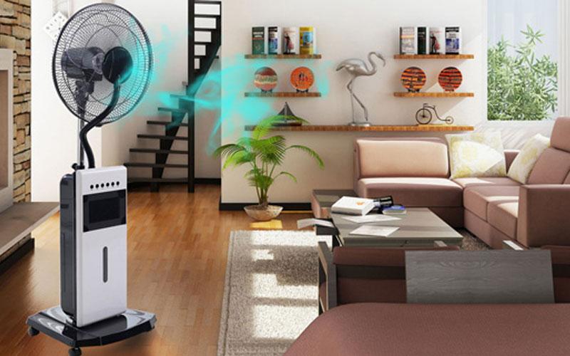 Sử dụng quạt kết hợp máy lạnh giúp tiết kiệm điện, đúng hay sai? 2