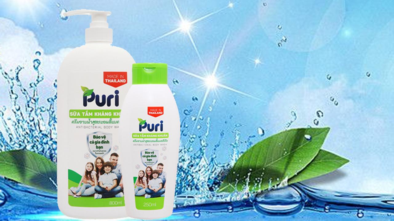 Sữa tắm Puri có tốt không? 2
