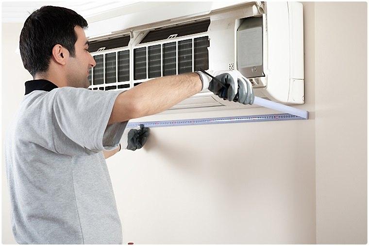 Xử lý máy lạnh chảy nước gây nấm mốc khó chịu 4