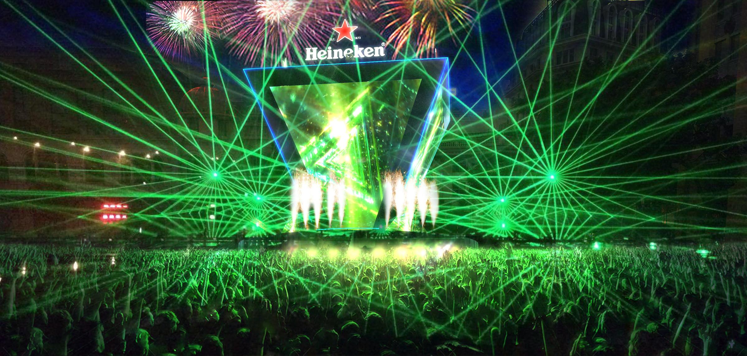 Đại tiệc âm nhạc Heineken Countdowndiễn ra ở đâu? 1
