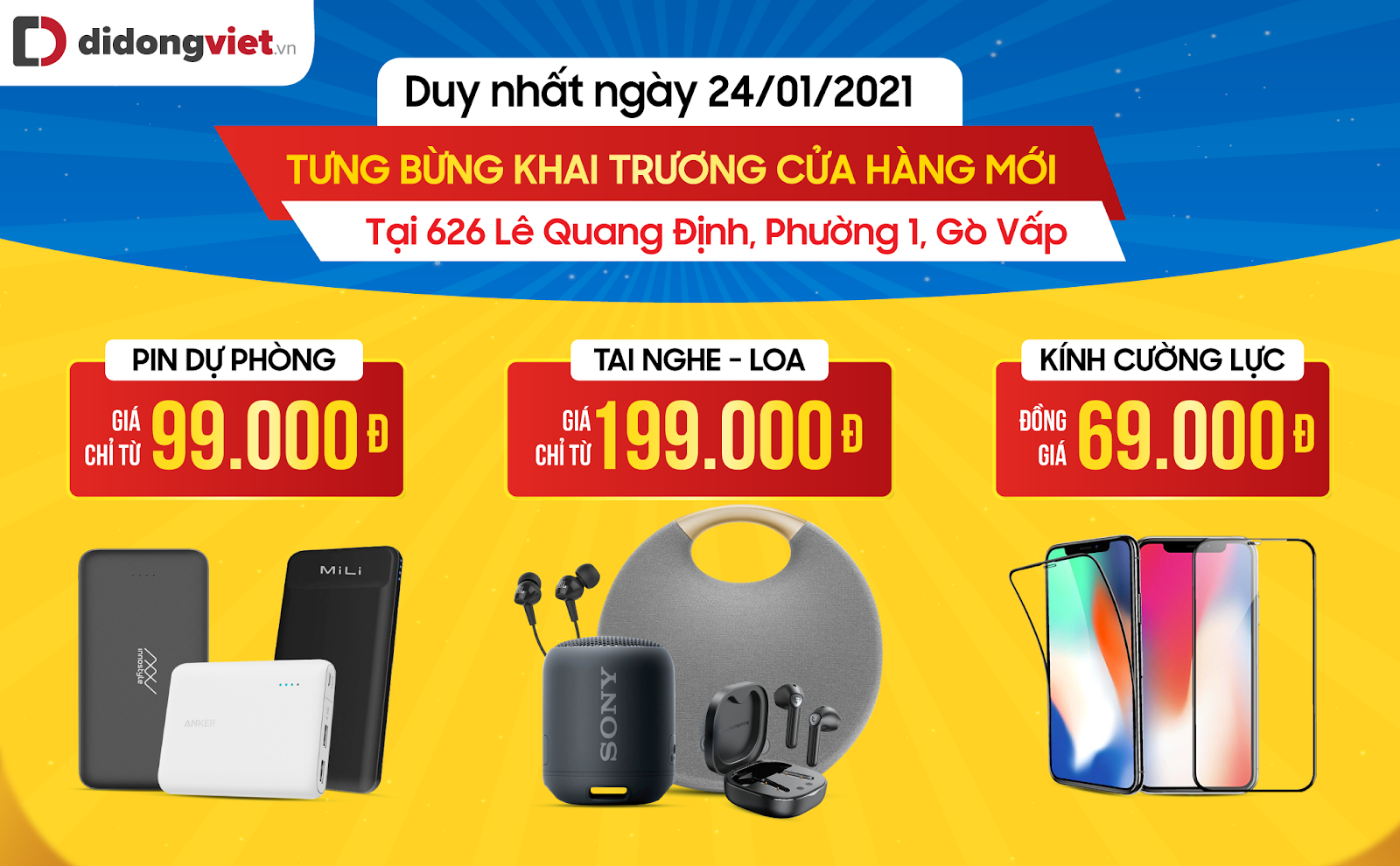 Hàng loạt điện thoại iPhone được giảm giá sâu ngày khai trươngDi Động Việt Gò vấp 1
