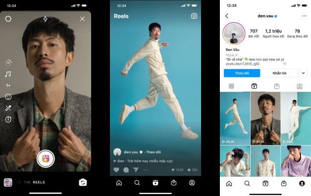"""Tính năng mới """"Reels"""" chính thức có mặt trên ứng dụng Instagram tại Việt Nam 1"""