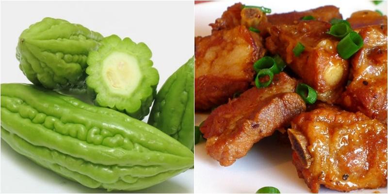 Những loại thực phẩm tuyệt đối không kết hợp cùng khổ qua 6