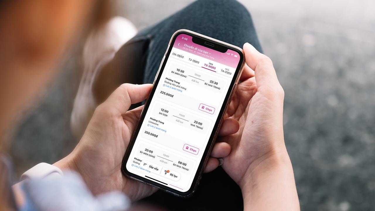 Người dùng lần đầu tiên mua vé xe Phương Trang qua ví MoMo 1