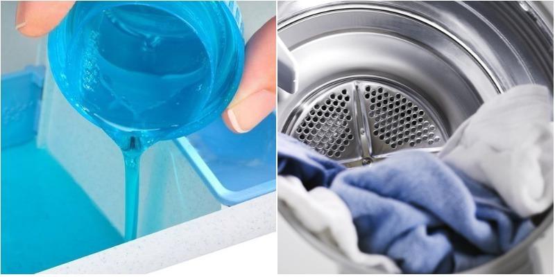 Mẹo xử lý quần áo dính vệt trắng sau khi giặt bằng máy giặt 3