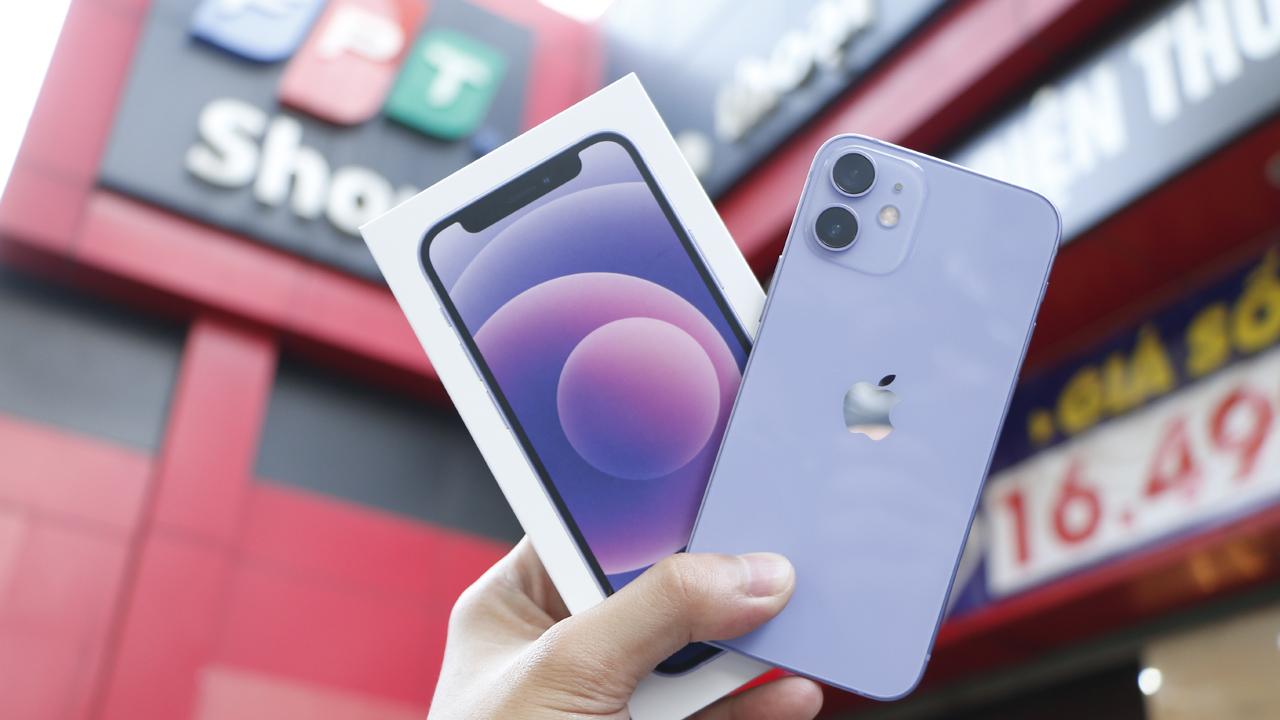 iPhone 12 màu tím mới chính thức lên kệ 2