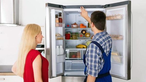 Xử lý tủ lạnh bị đọng nước, đóng tuyết trên ngăn đá 6