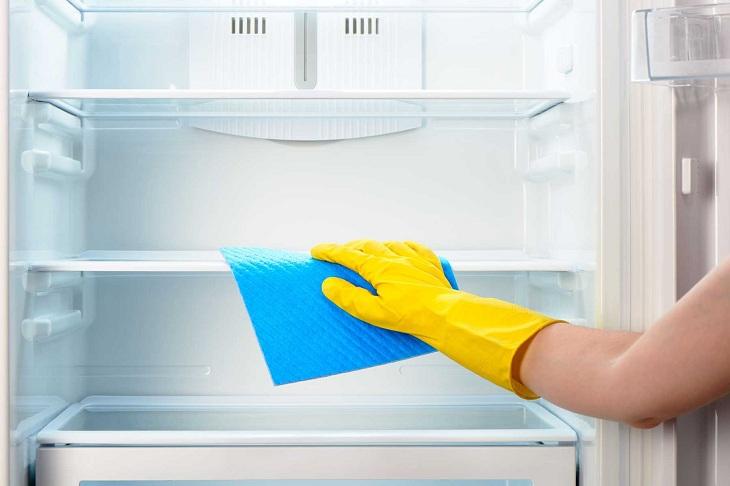 Xử lý tủ lạnh bị đọng nước, đóng tuyết trên ngăn đá 4