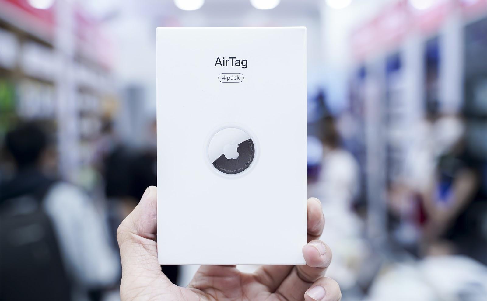 Trên tay Apple AirTag, giá 790.000 đồng 2