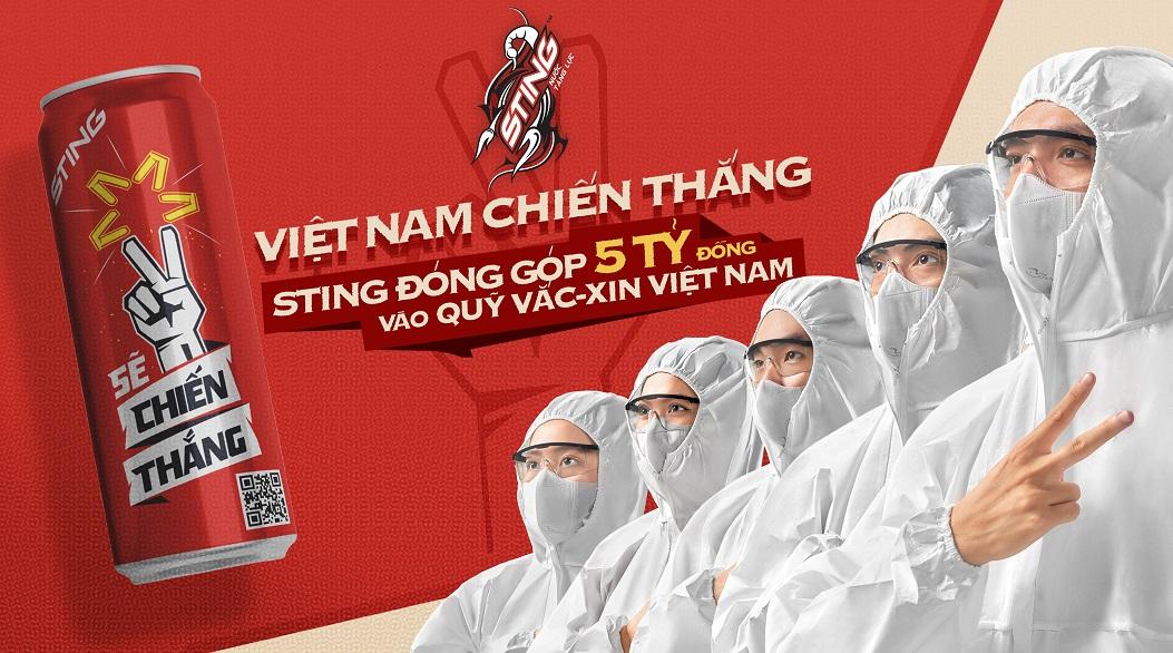 Suntory PepsiCo Việt Nam đóng góp 5 tỷ đồng vào Quỹ Vắc-xin phòng Covid-19 Việt Nam 2