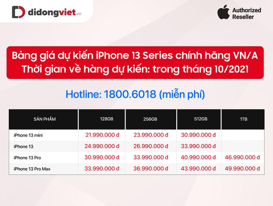 Di Động Việt tung loạt ưu đãi cho khách đặt trước iPhone 13 series 22