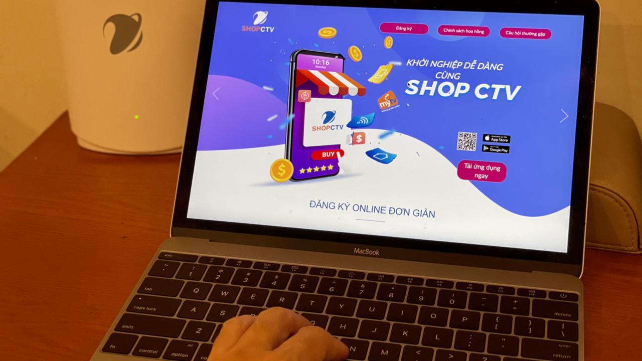 Mở shop 0đ, nhận hoa hồng không giới hạn cùng ứng dụng Shop CTV của VNPT 5
